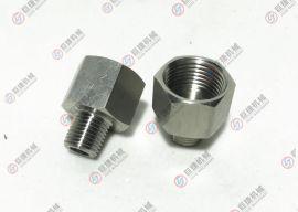六角内外丝接头变送器用过程连接头 螺纹转换接头 仪表内外丝接头