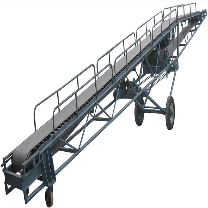 **不锈钢输送网带 皮带输送机托辊 移动胶带输送机