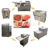 成套小烤肠生产设备 整套台烤生产机器 斩拌机 香肠生产线可定制