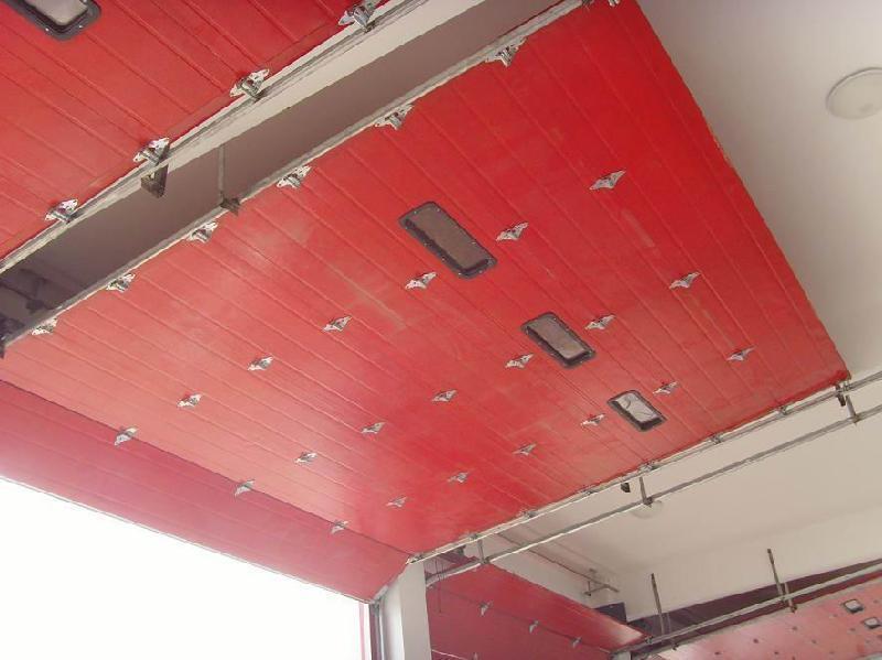 永燦工業電動提升門,工業垂直提升門