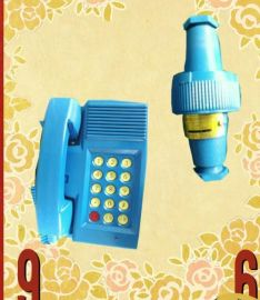 KTH125矿用本安扩音电话矿用防爆电话机KTH116A矿用隔爆兼本安扩音电话