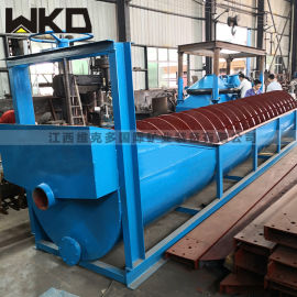 螺旋洗砂机工厂直销 高产量螺旋洗砂机 洗砂机视频