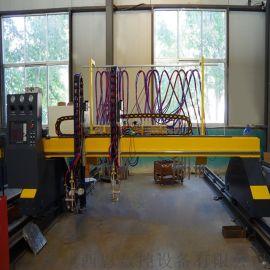 西恩龙门火焰直条数控切割机 直条火焰数控切割机