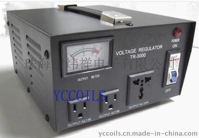 AC110/220V高精度自全动交流稳压器2000W