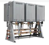 節能熱水設備 浴場熱水系統 燃氣熱水並聯系統 太陽能輔助熱水器