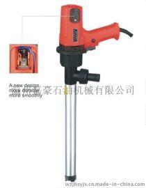 电动抽油泵220V手提式加油泵吸油泵自吸柴油泵输油泵抽油机油桶泵