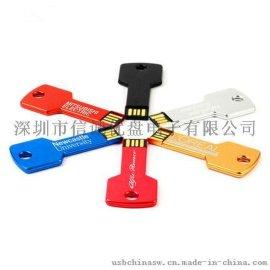 钥匙款式 钥匙形状U盘定制 创意礼品 USB随身碟 u盘批发 礼品u盘制造商