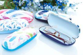 私人定制眼镜盒高档眼镜盒框架眼镜盒新款PU眼镜盒