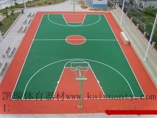 酸材料选购PU球场价格?深圳篮球场施工建设