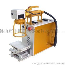 深圳廣州佛山中山金屬標牌製作廠家304不鏽鋼鍋光纖鐳射打碼機
