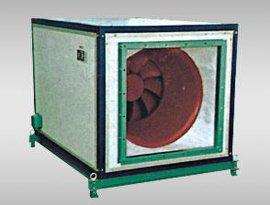 低噪音、节能型混流式风机箱