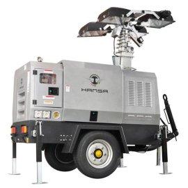 移动式柴油机灯车
