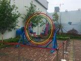 三维太空环 大型成人儿童游乐设施 广场公园360°旋转太空椅