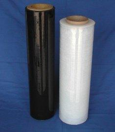 厂家 黑色缠绕膜 托盘打包膜 拉伸膜 PE缠绕膜 宽50cm 净重3.0KG