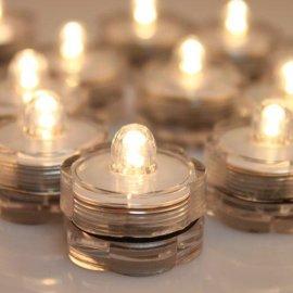 LED花瓣形旋钮灯小夜灯装饰灯电子蜡烛灯茶灯
