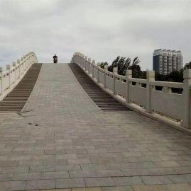 供应城市园林石雕草白玉石栏杆 桥梁防护