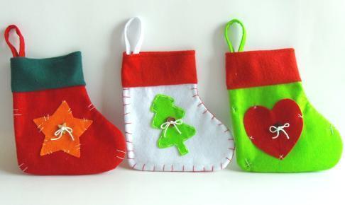 彩色圣诞袜子