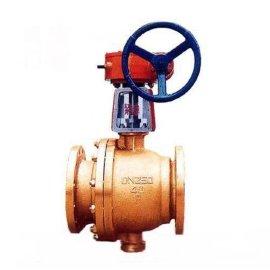 厂家供应直销QY347F-16T氧气  蜗轮式球阀般德阀门