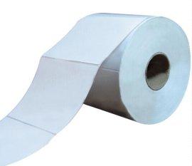 厂家定做标签纸80*100*1000竖排条码纸,