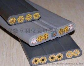 杭州钢铁硅橡胶耐磨扁电缆XFNH-DJFGPR