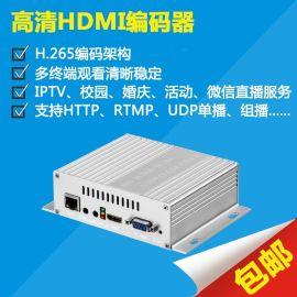 海威H5110B h.265编码器 高清视频编码器
