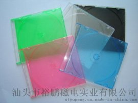 5.2MM 单面透明面彩色底cd case cd 盒cd盒子 (YP-E501)