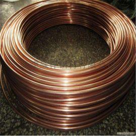 紫銅管 空心銅管 制冷銅管 加工定做折彎加工