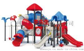小博士组合大型滑梯幼儿园工程塑料户外滑梯