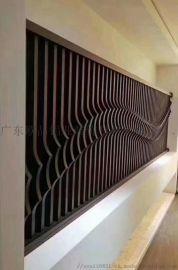 欧品铝业,木纹、弧形铝方通,艺术、波浪、异形铝单板