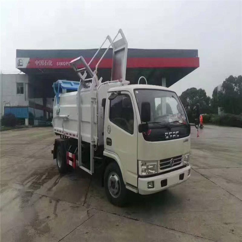 东风多利卡自卸式垃圾车