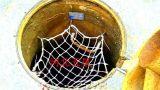 丙纶防护网&涤纶防护网,耐腐蚀地下井专用防护网