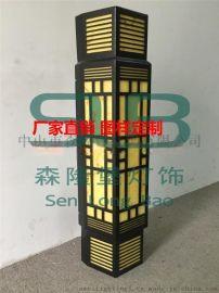 古镇壁灯厂仿云石壁灯批发价,户外壁灯质量高性价比