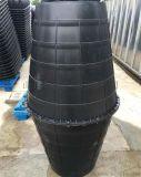 双瓮漏斗式PE化粪池的安装说明
