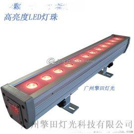 擎田燈光廠家直售12顆3w三合一防水洗牆燈