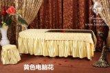 订做美容院美容按摩床罩四件套夹棉床罩床裙按摩养生美容床通用