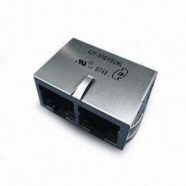 YDS元册62F-1204GYD2NL RJ45 1X2 10/100BASE-T集成变压器