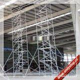 广州6米铝合金脚手架,双宽直爬梯,安全移动平台