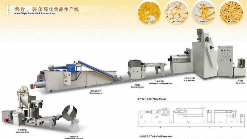新型PHJ70食品膨化机 多功能食品膨化机 大豆拉丝蛋白 食品机械