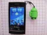 现模生产安卓手机挂件,3D立体安卓吊饰手机挂件