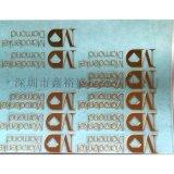 製作供應玫瑰金色電鑄標牌,分體自粘金屬貼字,鎳薄標,鏤空鎳箔字標貼