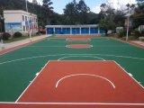 厂家供应丙烯酸篮球场地大型丙烯酸球场铺设环保丙烯酸