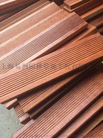 菠萝格防腐木板材上海易洲木业厂家直销