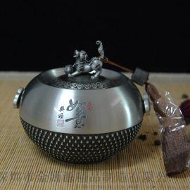纯锡坊纯锡茶叶罐纯锡罐普洱茶罐办公家居商务礼品厂家