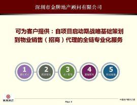 """房地产策划请找""""五位一体""""服务模式提供商:深圳金牌地产顾问有限公司"""