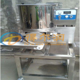 山东立式牛肉饼成型机 自动土豆饼南瓜饼成型裹糠设备