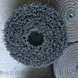 汽車零部件毛刷圓盤刷杜邦絲毛刷磨料絲毛刷