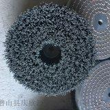 汽车零部件毛刷圆盘刷杜邦丝毛刷磨料丝毛刷