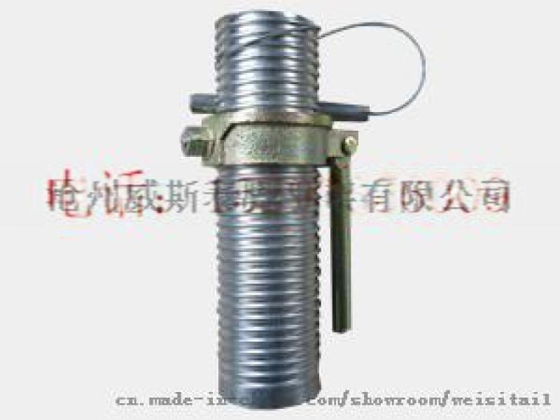山东哪里有卖钢支撑配件螺纹管,螺母?找威斯泰脚手架配件来帮忙