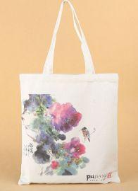 定做个性环保手提帆布袋 服装广告购物袋可印图案