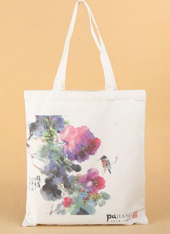 定做個性環保手提帆布袋 服裝廣告購物袋可印圖案